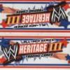 WWE Heritage III Hobby Box (Topps 2007)
