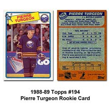 pierre turgeon rookie