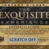 """Exquisite """"Golden Ticket"""""""