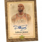 Lebron James Artifacts Auto Pulled!