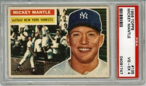 Mickey Mantle PSA Baseball Card