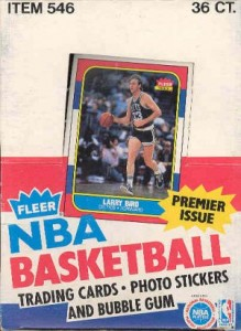 1986/87 Fleer Basketball Box