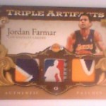 Jordan Farmar Triple Artifacts 1/1