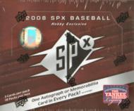 2008 Upper Deck SPx Baseball Box