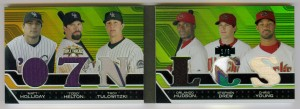 2008 Topps Triple Threads Baseball Jersey Cards