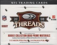 2008 Donruss Threads Football Box