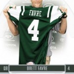 Upper Deck and Donruss to Feature Brett Favre Jets Cards