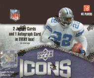 2008 Upper Deck NFL Icons Football
