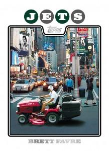 Brett Favre Tractor Card
