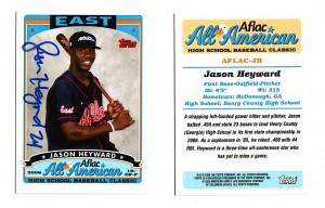 Jason Heyward Aflac All-American Rookie Card