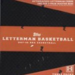 Topps Adds Lottery Picks to Letterman Basketball