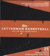 Topps Letterman Basketball Cards