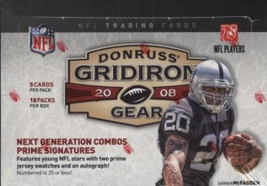 2008 Donruss Gridiron Gear Football Cards
