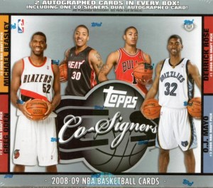 Topps Co-Signers basketball