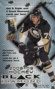 Upper Deck Black Diamond Hockey Cards