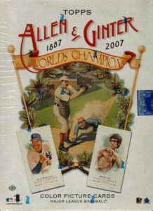 Allen and Ginter Baseball Box