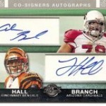 Great Pulls from a 2007 Topps Co-Signers Box