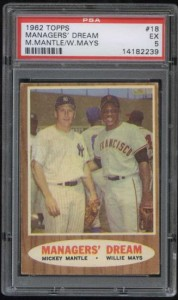 1962 Topps Managers Deam Card