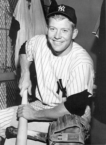 Mickey Mantle Yankees Locker Room