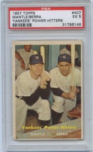 Mantle/Berra Power Hitters Card