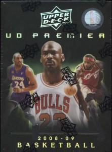 2008/09 Upper Deck Premier Basketball Box
