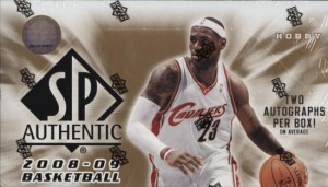 2008/09 Upper Deck SP Authentic Basketball Box