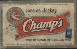 2008/09 Upper Deck Champs Hockey
