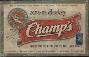 2008/09 Upper Deck Champs Hockey