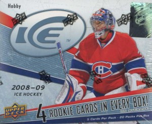 2008/09 Upper Deck Ice Hockey Cards Hobby Box