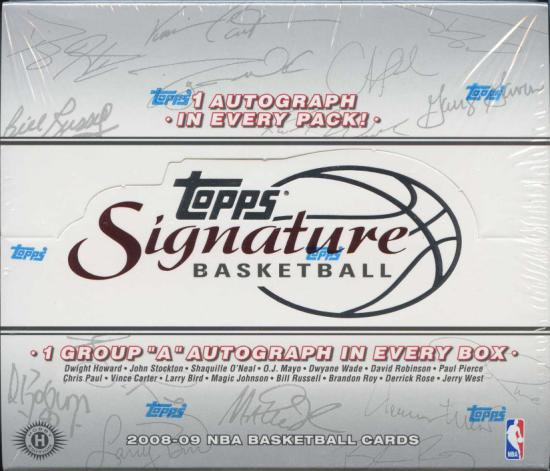 2009 Topps Signature Basketball