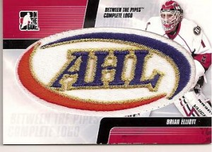 Brian Elliott Logo Patch Card