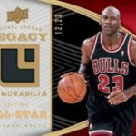 Upper Deck Releases Michael Jordan Legacy Collection Cards