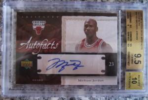 Michael Jordan Autograph Card