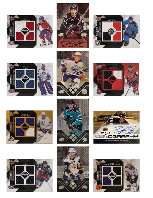 2008/09 Black Diamond Hockey Cards