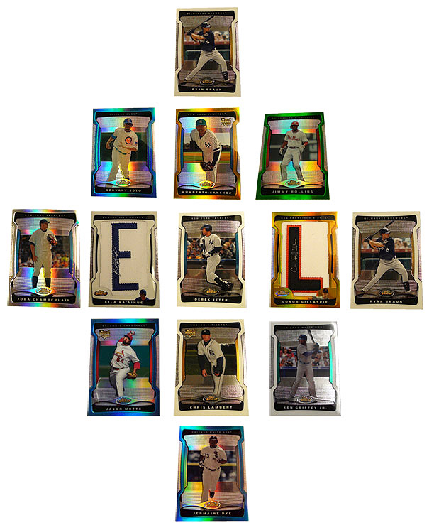 baseball cards 2009. favorite aseball card box