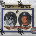 2009 SP Legendary Cuts Baseball