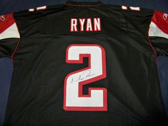 Matt Ryan Autographed Jersey