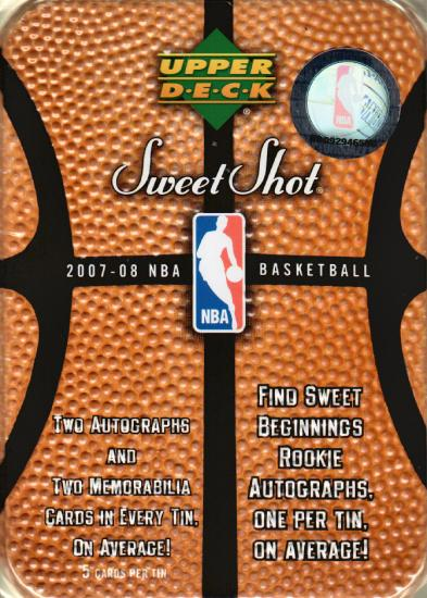 Upper Deck Sweet Shot Basketball