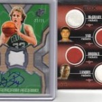 Phenomenal Pulls: Larry Bird Auto Jersey and Houston Rockets 1/1