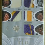 Phenomenal Pulls: Los Angeles Lakers Ultimate Ten Patch