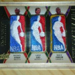 Phenomenal Pulls: 2008/09 Exquisite Basketball Jordan/Bird/Johnson 1/1 Logoman