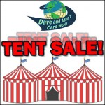 Dave and Adam's Card World Annual Tent Sale