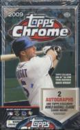 2009 Topps Chrome Baseball
