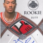 Phenomenal Pulls: Derrick Rose 08/09 Exquisite Rookie Auto Patch