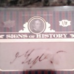 Phenomenal Pulls: John Tyler Cut Signature