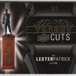 Phenomenal Pull: 2009 UD Black Trophy Cuts 1/1 Patrick/Howe/Orr