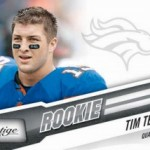 Tim Tebow's First NFL Card Images Released From Panini