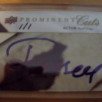 Phenomenal Pull: Russell Crowe 1/1 Cut Auto UD Prominent Cuts