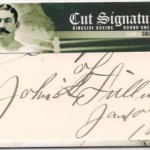 Phenomenal Pulls: John L. Sullivan Cut Signature 1/1 Ringside