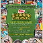 Topps Gridiron Giveaway Goes Live with 2010 Topps Football